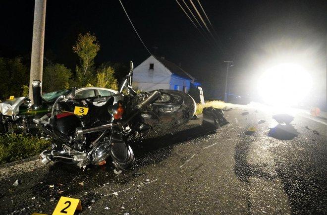 Motocikl je potpuno uništen/Foto: MojPortal.hr