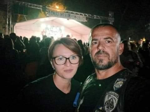 <p>Tragično stradali supružnici Katarina i Vitomir Bubnjić iz Virovitice/Foto: Moto Klub Kumovi Virovitica</p>